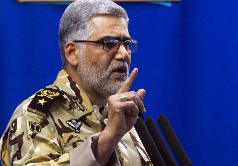 Commander of Iran's land force Ahmadreza Pourdastan