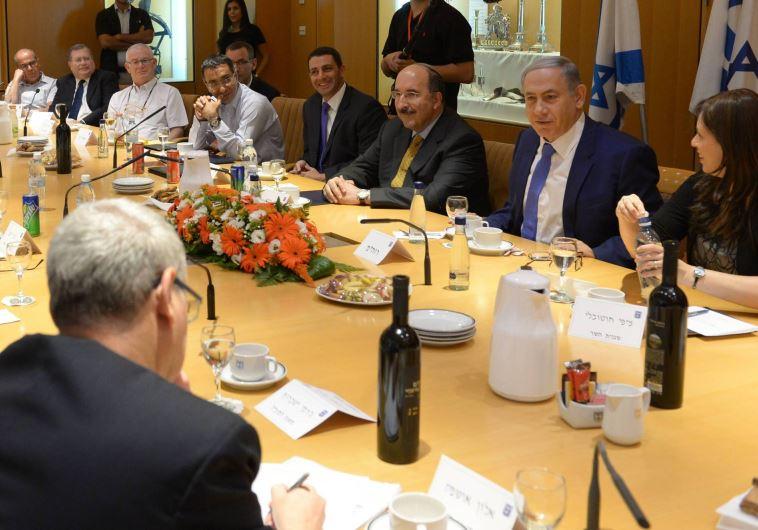 Netanyahu speaks at Foreign Ministry Rosh Hashana toast