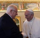 Rivlin Pope Francis
