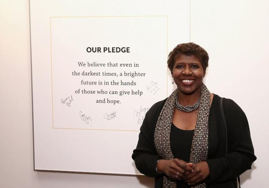 PBS anchor Gwen Ifill