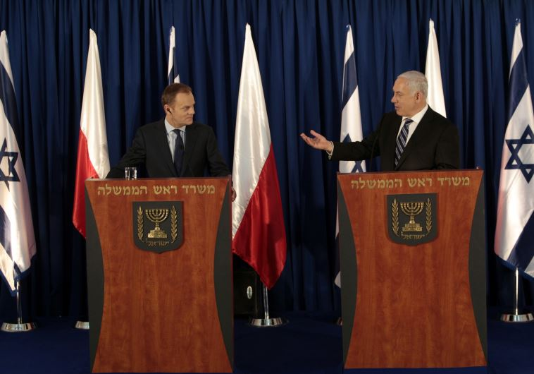 Benjamin Netanyahu Donald Tusk