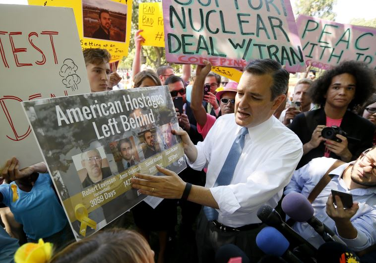 As Iran deal passage looms, congressional foes take their fight state level
