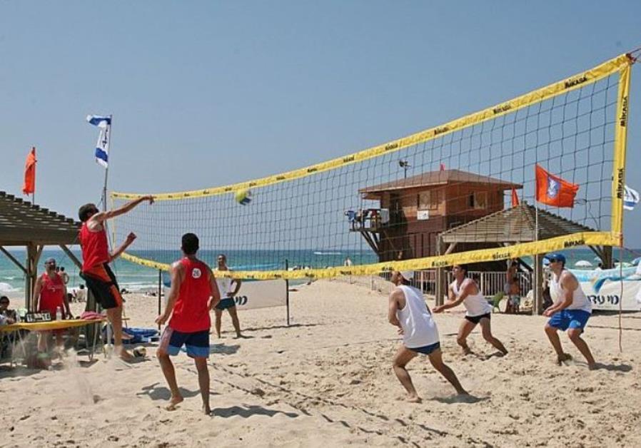 Netanya's Sironit beach