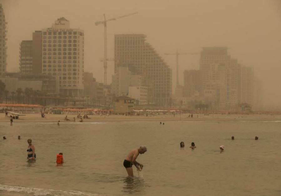 WHO ratings for air pollution levels lists Israel as relatively high ...