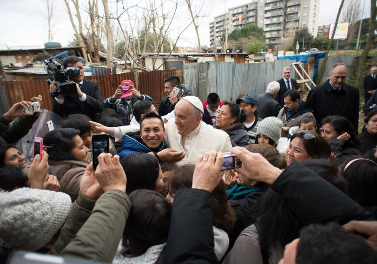 Pope Francis refugee