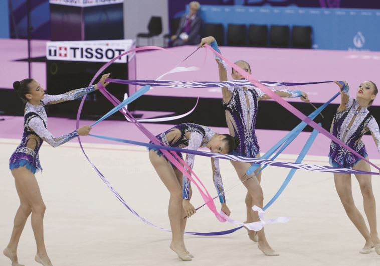 Israel's national rhythmic gymnastics team booked its place in the Rio Olympics