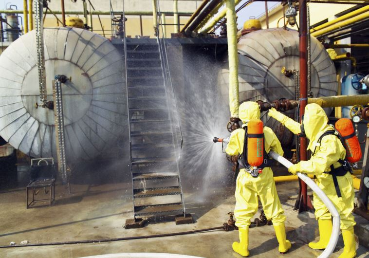 Ammonia leakage on kibbutz in North causes scare; 4 people hospitalized