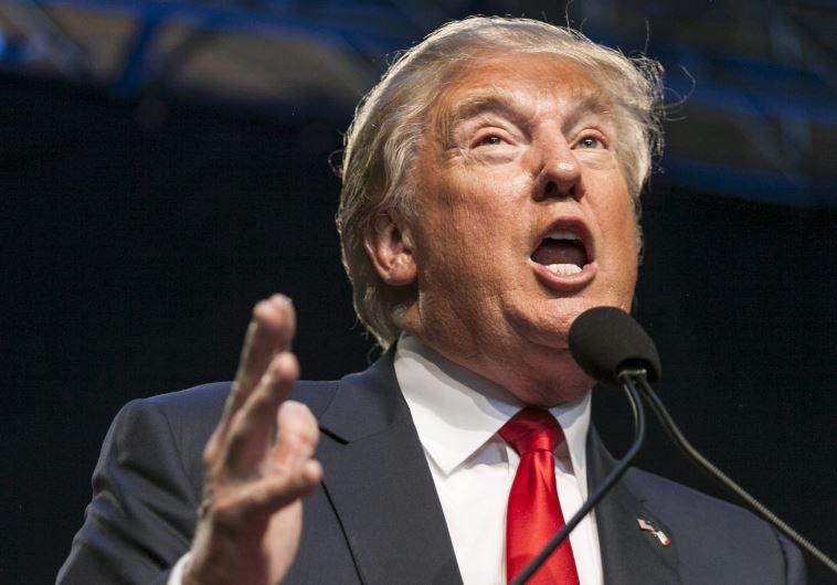 US Republican presidential candidate Donald Trump