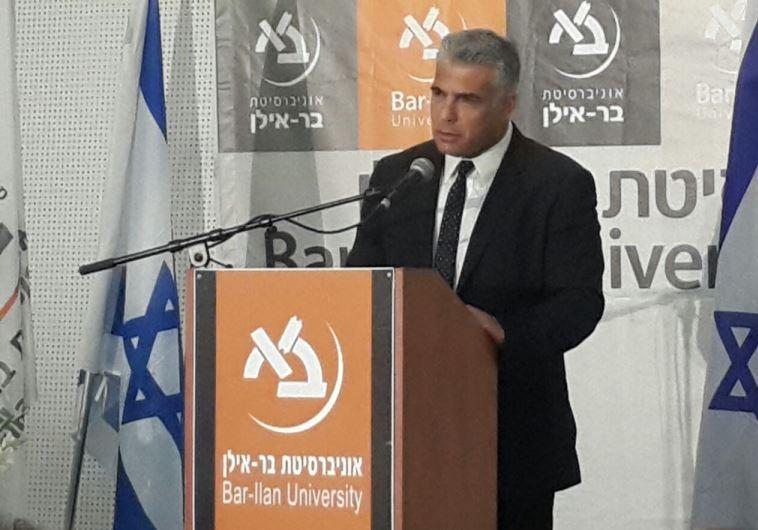 Yesh Atid chairman Yair Lapid