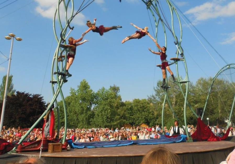The fourth International Circus Festival Israel