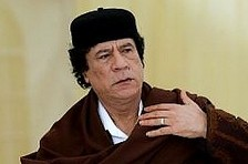 Gadhafi proposes joint state of 'Isratine'