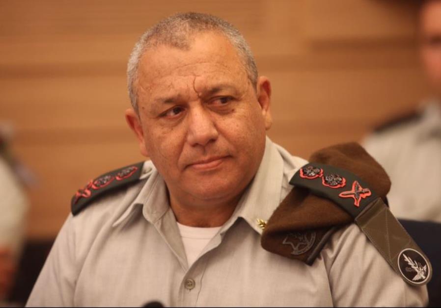 IDF chief of staff Lt.-Gen. Gadi Eisenkot