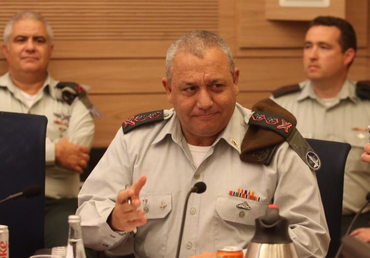 IDF chief of staff Lt.-Gen. Gadi Eisenkot