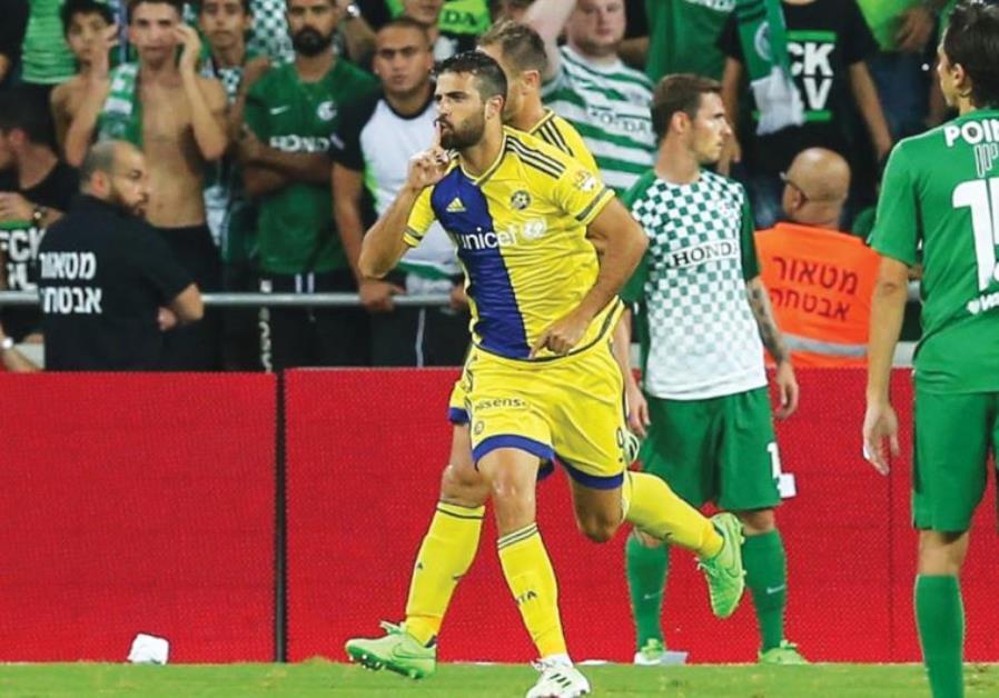 Maccabi Tel Aviv striker Eden Ben-Basat