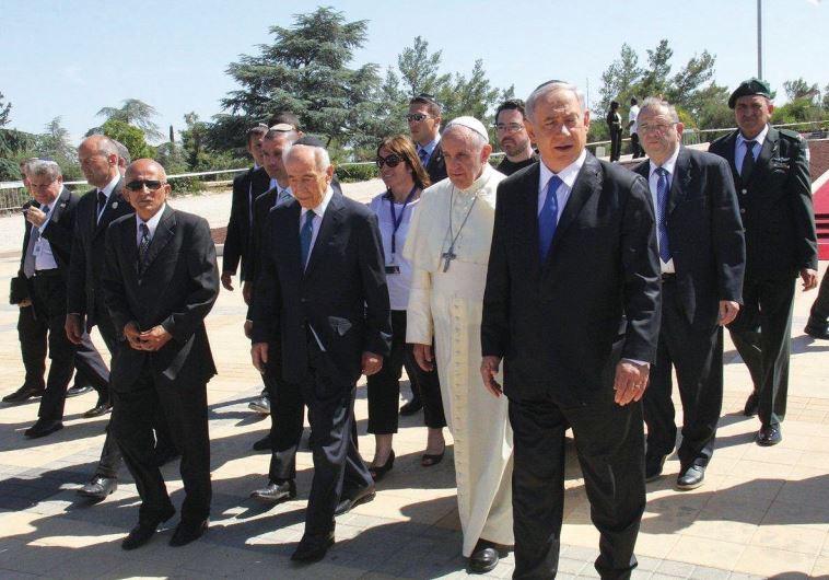 Pope Francis Israel
