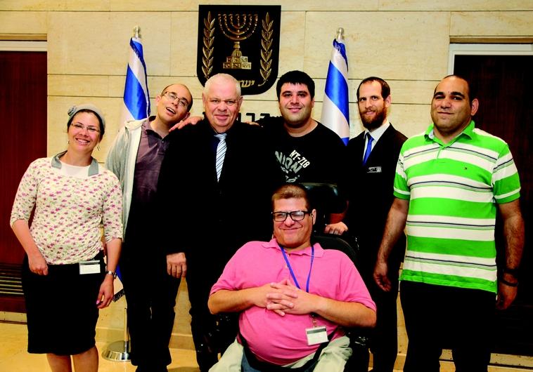 Employés handicapés de la Knesset