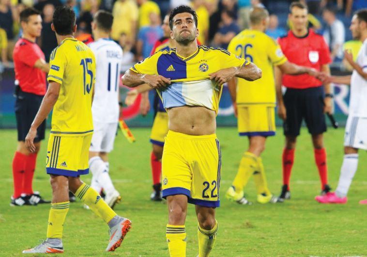 Maccabi Tel Aviv defender Avi Rikan