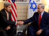 US Secretary of State John Kerry (L) and Prime Minister Benjamin Netanyahu meet in New York