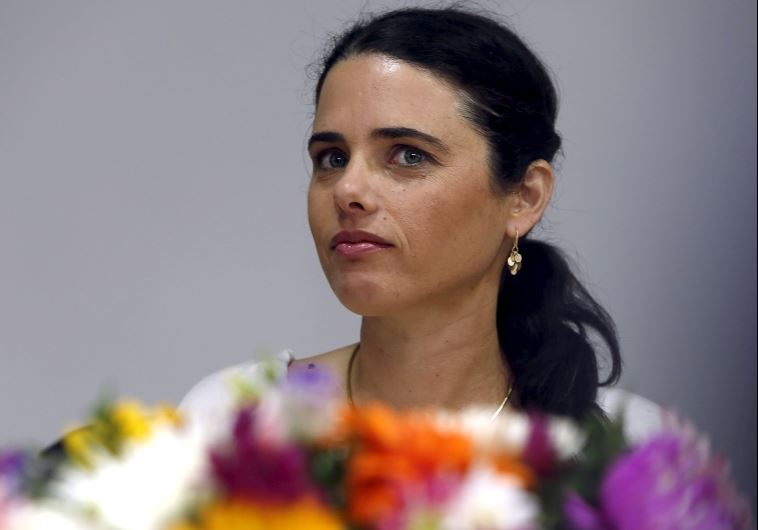 Justice Minister Ayelet Shaked