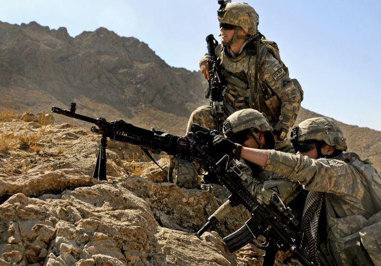 US soldiers operating in Afghanistan