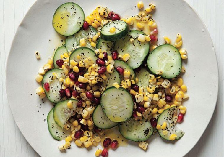 Cucumber and Corn Salad