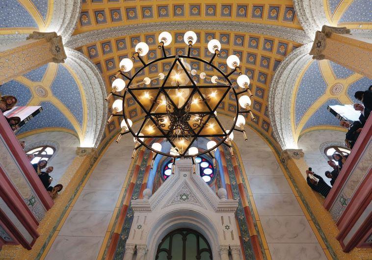 Turkish synagogue vandalized following first prayer ...