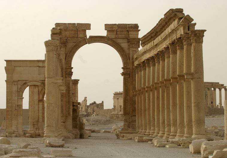 Arch of Triumph, Palmyra, Syria