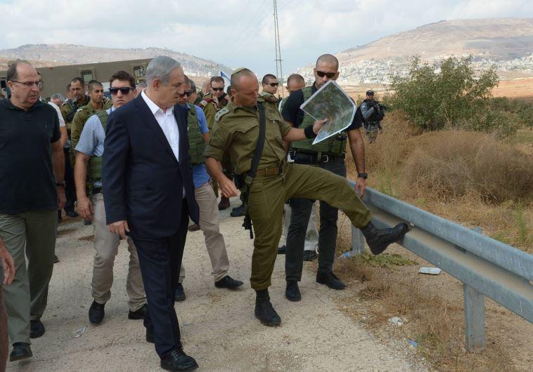 Benjamin Netanyahu and Moshe Ya'alon