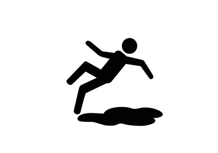 Large Sign Slippery When Wet | Sandleford
