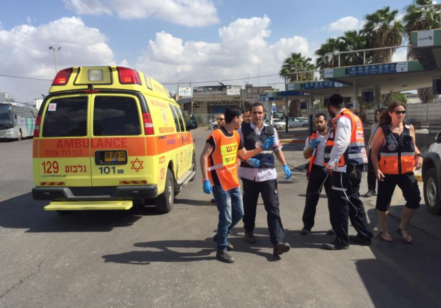 MDA at Afula terror incident