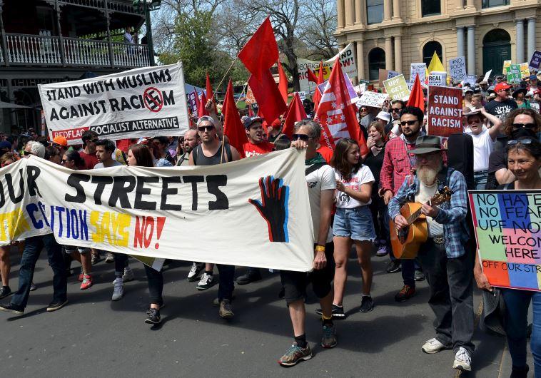 australia protest