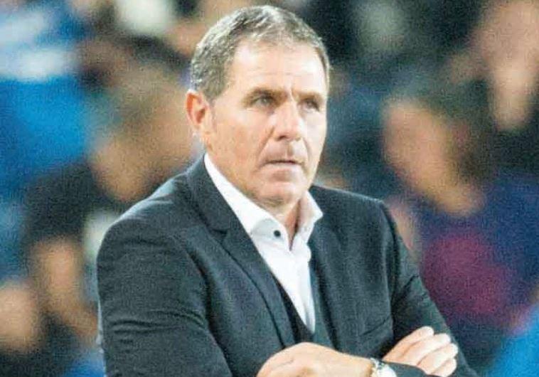 Israel national team coach Eli Gutman