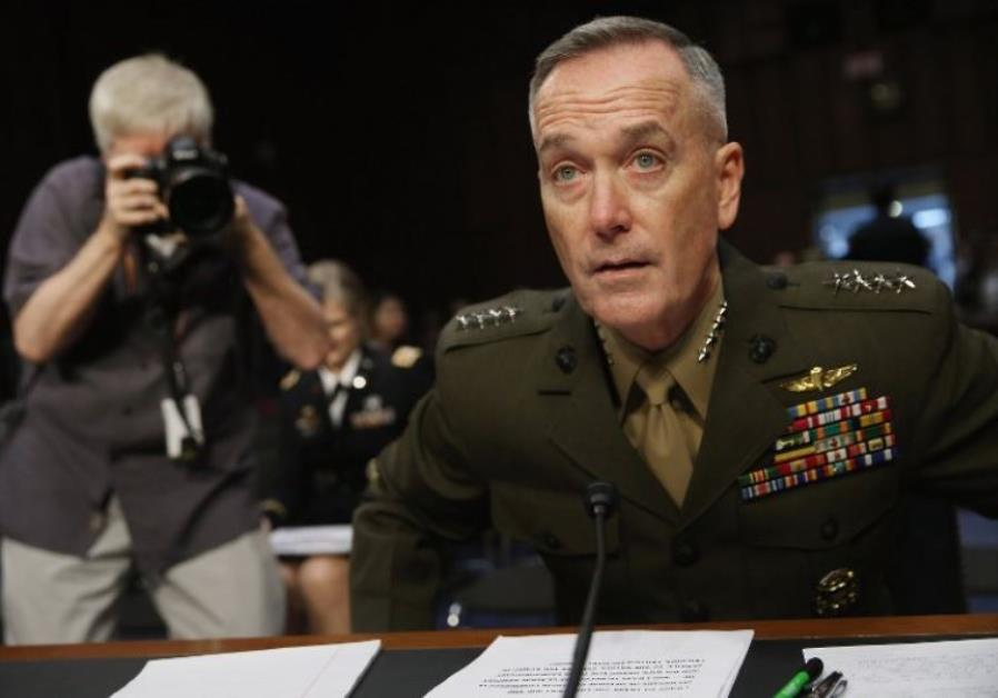 Commandant of the US Marine Corps General Joseph Dunford Jr.