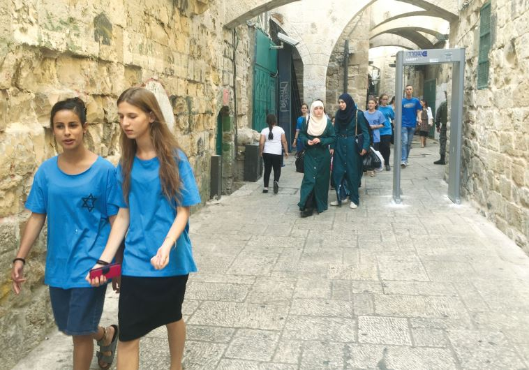 Jew Detector: On Alert In The Holy City