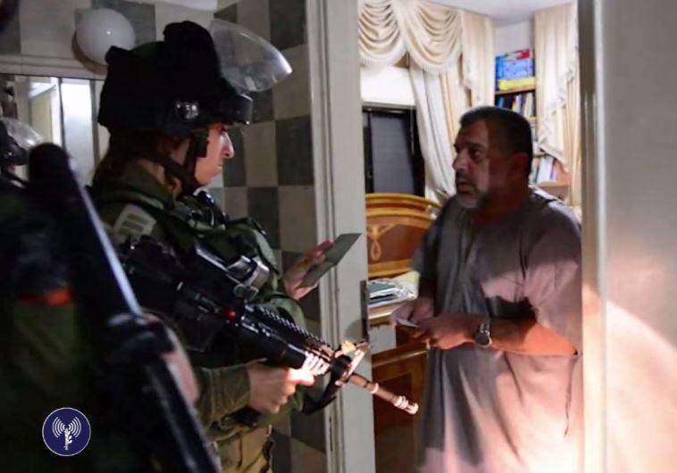 IDF Hamas arrest