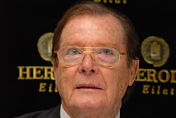 Roger Moore here to promote circumcision project against AIDS