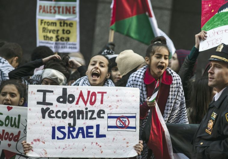 Anti Israel demonstration