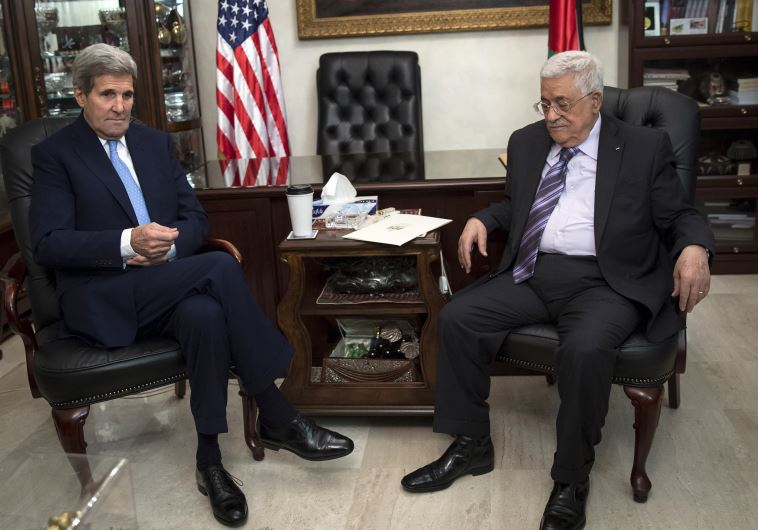 Kerry and Abbas meet in Amman, Jordan