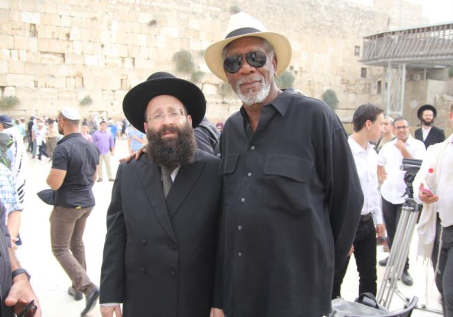 Morgan Freeman Israel