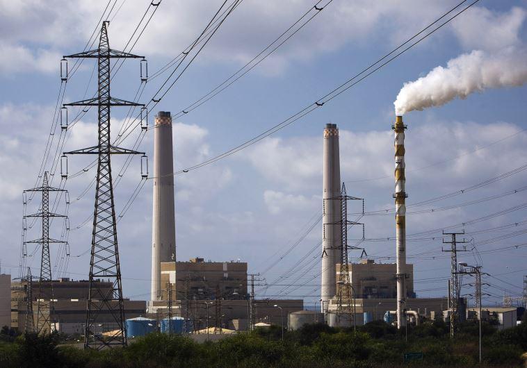 A power station is seen in Ashdod
