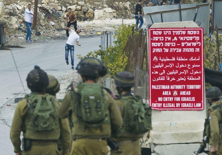 Palestinians Hebron