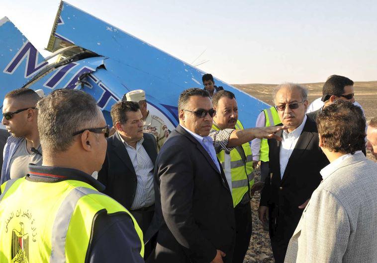 Russia plane crash Sinai Egypt