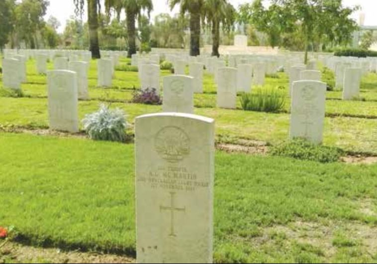 THE COMMONWEALTH WAR CEMETERY in Beersheba contains 1,241 graves of commonwealth soldiers