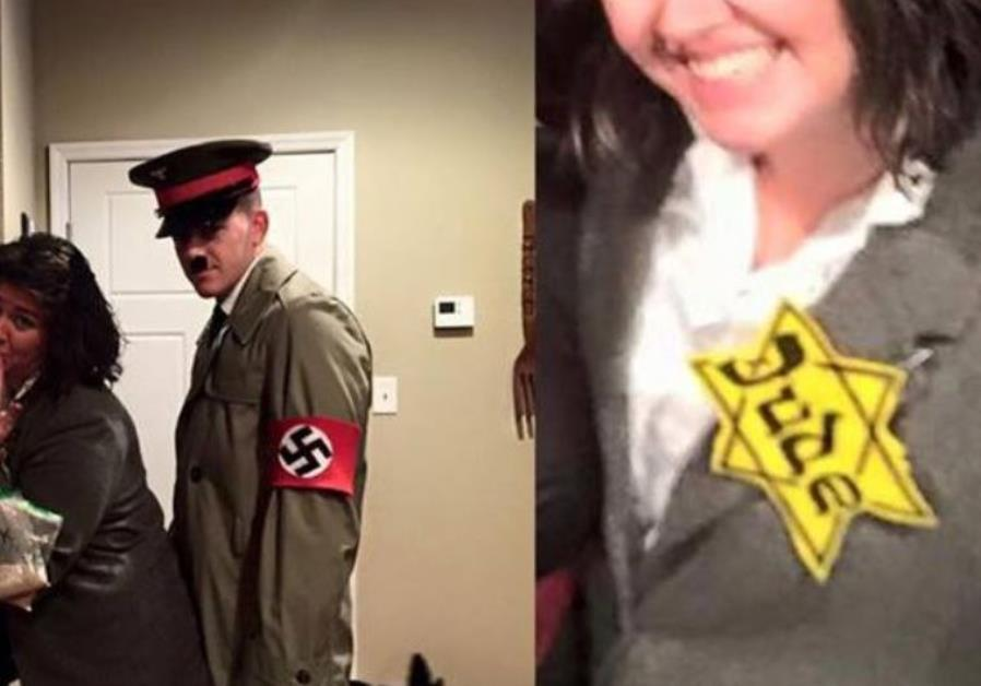 Holocaust-themed Halloween constome