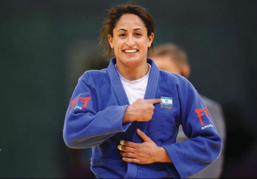 Israeli judoko Yarden Gerbi