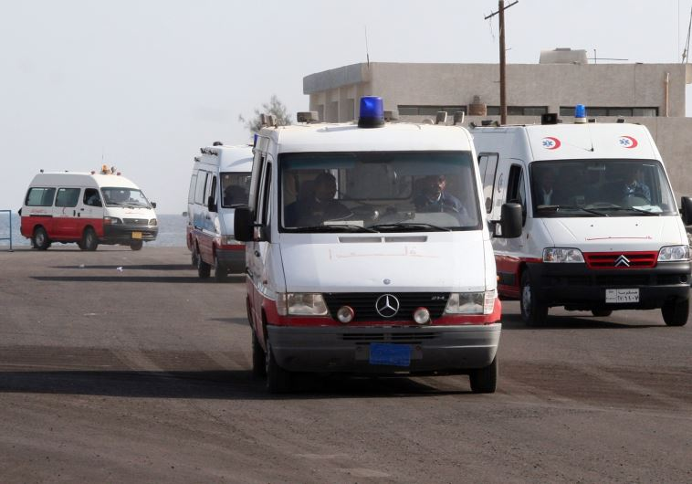 Egyptian ambulances