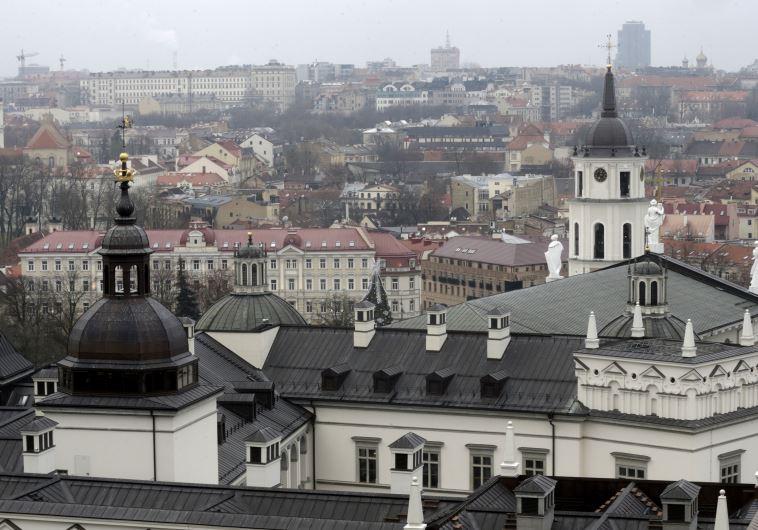 Lithuania skyline