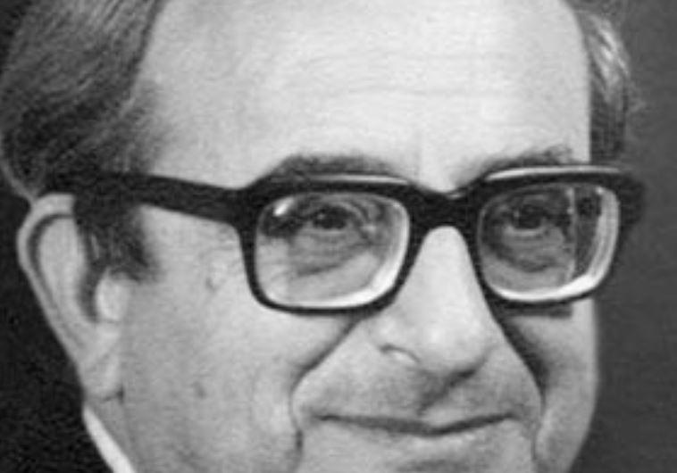 Former president Yitzhak Navon