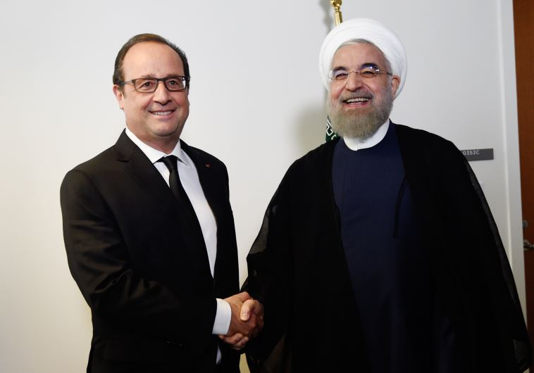 Rouhani Hollande