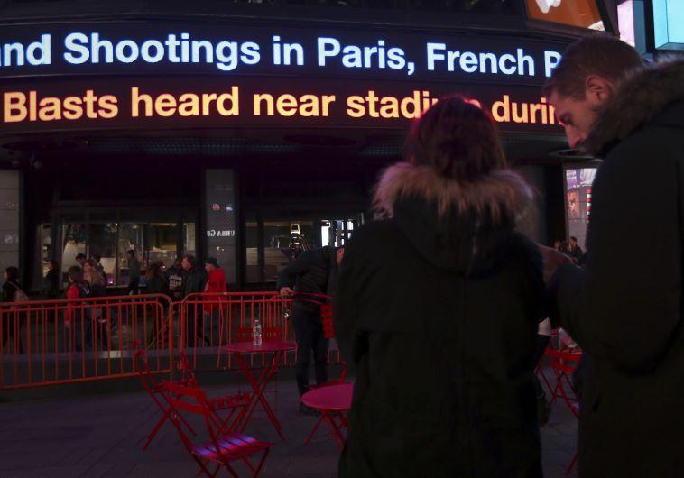 new york paris attack